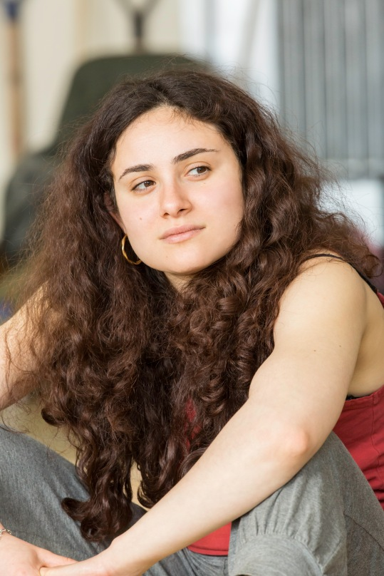 Yasmin Paige in rehearsal for Ah, Wilderness! at the Young Vic. Photo by Johan Persson.
